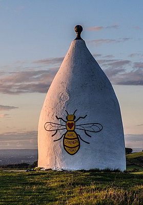 White Nancy With Manchester Bee 2017