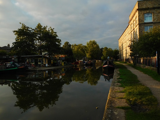 Adelphi Mill and canal