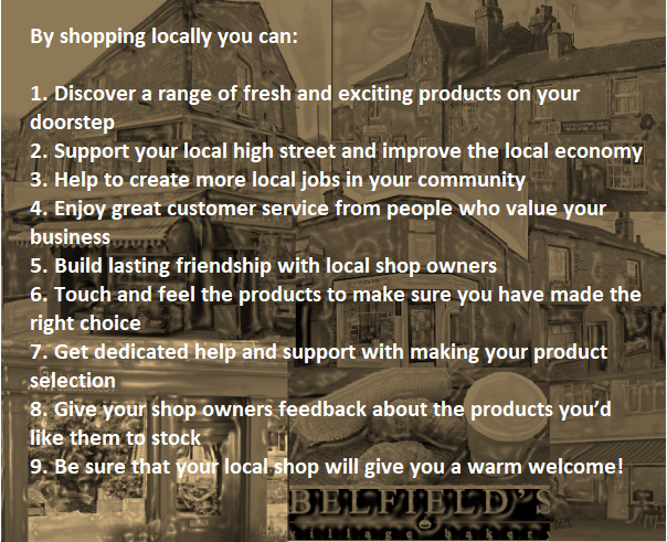 Shop Local collage