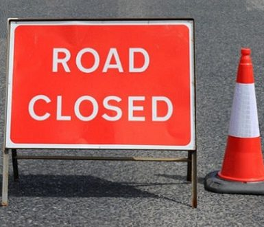 Road Closed Notification