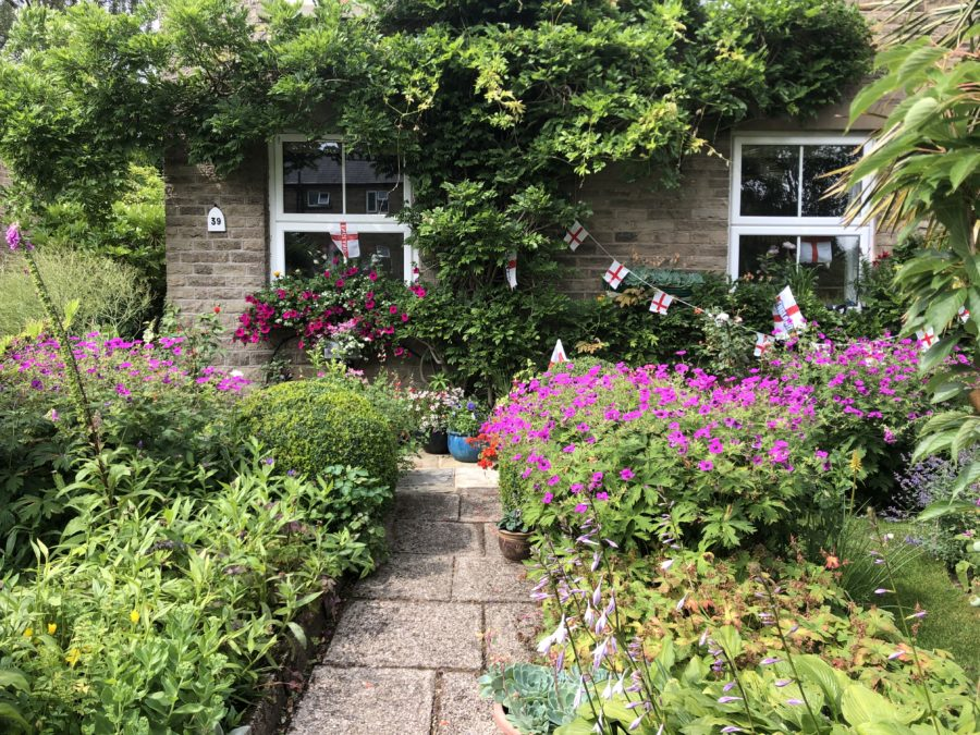 Image of Front Garden and flowers