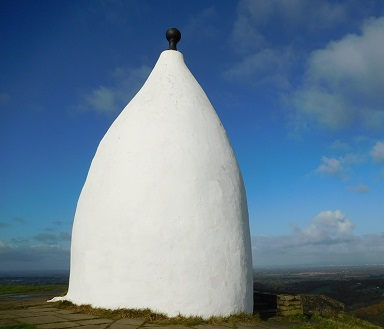 White Nancy painted